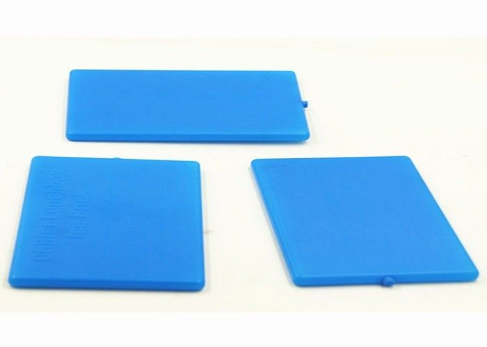 Cold Chain PCM Materials Hard Thin Ice Pack Reusable For Lunch Box Food Storage